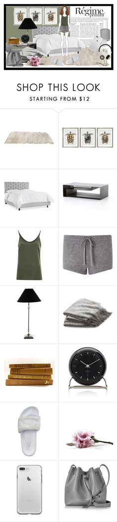 """""""Untitled #638"""" by debysilviaa on Polyvore featuring Anja, William Stafford, VILA, Jigsaw, Lene Bjerre, Crate and Barrel, Carl Mertens, Puma and Lancaster"""