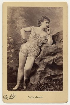 Lottie Grant, 1890, from Charles H. McCaghy Collection of Exotic Dance & Brulesque