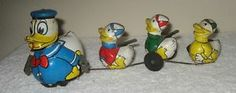 Mechanial Donald Duck With his 3 Nephews, without box, 163,60 € (17/02/14)