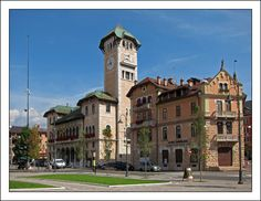 This is Palazzo Municipale (Town Hall) in Asiago near Vicenza.