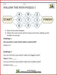 math worksheet : addition puzzle make 30 a puzzle where you have to find pairs or  : Addition Puzzle Worksheets