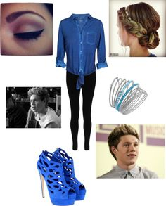 """""""Lunch With Niall Horan"""" by kayla-mitchell3 ❤ liked on Polyvore"""