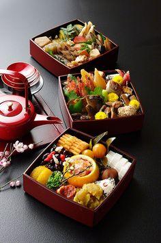 お節調理、和食/Osechi