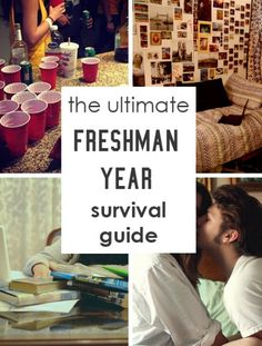 This is an awesome list that covers everything you need to know about freshman year! From roommates, to parties, to academics, and more - this ultimate freshman year survival guide has all theinformation you need tothrive inyour first of year of...