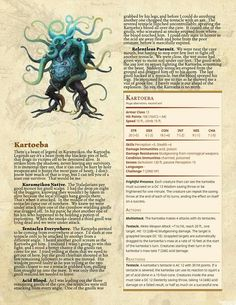 355 Best Monsters and Characters images in 2019 | Dungeons, dragons