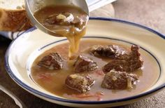 Bavarian Beef ~ This classic German stew is made with lean trimmed beef stew meat & cabbage. (Maybe good for St. Paddy's Day?)