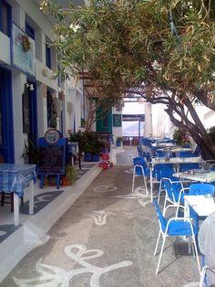 Amorgos island Greece taverna