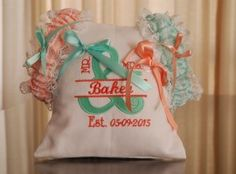 DSC_2054 Ring Pillows, Garter Set, Wedding Garter, Custom Design, Reusable Tote Bags, Ring Bearer Pillows