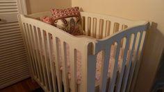 instructions for diy mini crib.