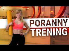 PORANNY TRENING - szybki trening na całe ciało | Codziennie Fit - YouTube Cardio, Bra, Sports, Youtube, Hs Sports, Bra Tops, Sport, Youtubers, Youtube Movies