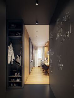 homedesigning:  (via A Modern Scandinavian Inspired Apartment With Ingenius Features)  http://ift.tt/2pvttmM