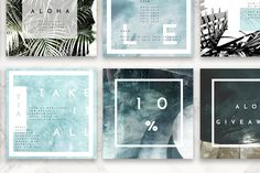 8 Pack Instagram Travel Layouts - Web Elements - 5