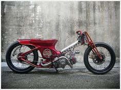 AFS Taiwan - Redman '59 - Pipeburn - Purveyors of Classic Motorcycles, Cafe Racers & Custom motorbikes.