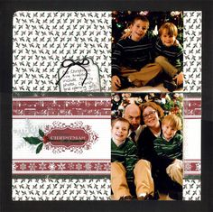 Merry Christmas 2007 - Scrapbook.com  Nice family page!