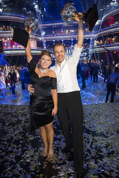Bindi Irwin and Derek Hough won DWTS! I'm so happy for her! She deserved it!
