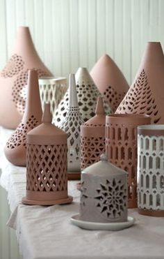 Pierced Lanterns - Aid to Artisans - Egypt