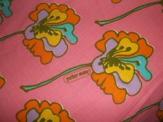 Peter Max bed sheets, my sister had these exact sheets back in the seventies!