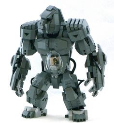 #LEGO Ape Armor. Check out the stomach area.