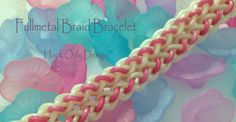 In this video I will show you how to make this cute little hook only design. The design work best with Rainbow Loom Limited Edition bands but other bands wil. Rainbow Loom Tutorials, Rainbow Loom Bands, Rainbow Loom Bracelets, Loom Band Bracelets, Rubber Band Bracelet, Braided Bracelets, Monster Tail, Fun Crafts, Arts And Crafts