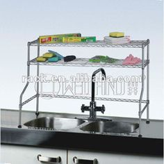 Metal Rack Kitchen Sink | 12 Years Shelving Factory Approved By NSF  Organization,Exporting To 50 ... | Kitchen Forward | Pinterest | Kitchen  Racks, Sinks ...