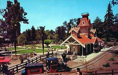 Frontier Village, San Jose, California.  Our mom used to take us here as little kids in the early 70's.  It's closed now but I still have some tokens and a pin.  Fun memories.