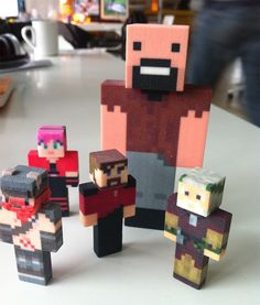 minecraft style character toys