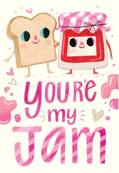 Youre my jam - Love Card #greetingcards #printable #diy #Love #romance #emotion #passion Happy Anniversary Cards, My Jam, Printable Cards, Love Cards, Invitation Cards, Invitation Templates, Create Yourself, Balloons, Stationery