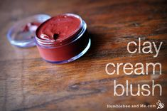 DIY Beauty Recipes ~ Clay Cream Blush from Humblebee & Me Homemade Blush, Homemade Clay, Face Scrub Homemade, Homemade Beauty, Diy Beauty, Beauty Tips, Beauty Hacks, Beauty Secrets, Homemade Moisturizer