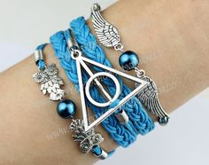 Silvery Harry potterHarry Potter Snitch and Owls by handworld, $5.99