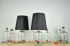 Recycled 'home-brew' lamps from The Original House