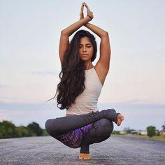 yogaparadise: toe stand #yoga