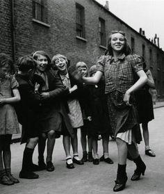 Strutting at school 1930s