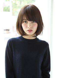 【Un ami】 2016 オトナかわいい・小顔ボブ 松井 幸裕 - 24時間いつでもWEB予約OK!ヘアスタイル10万点以上掲載!お気に入りの髪型、人気のヘアスタイルを探すならKirei Style[キレイスタイル]で。