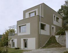 Anna Wickenhauser Architektur  Haus H-M  Graz/A Privathaus Style At Home, Wicken, Inventions, Anna, Mansions, House Styles, Home Decor, Graz, Architecture