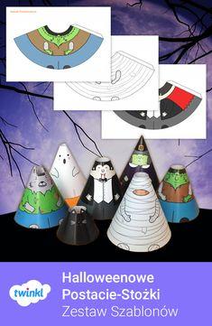 Zestaw wycinanek na Halloween! Ozdób salę lub pokój dziecka tymi uroczymi potworami - wystarczą nożyczki i odrobina kleju! #halloween #haloween #wycinanka #wycinanki #plastyka #ozdoby #gazetka #gazetkę #scienna #ścienna #szkolna #duch #czarownica #wampir #mumia #kot #frankenstein #dladzieci #przedszkole #montessori #wczesnoszkolne #przedszkolaki #przedszkolaków #przedszkolakow #wytnij #wycinanie #grafomotoryka #jesien #jesienne #twinklpolska #twinkl Advent Calendar, Holiday Decor, Home Decor, Decoration Home, Room Decor, Advent Calenders, Home Interior Design, Home Decoration, Interior Design