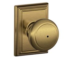 Schlage Andover Knobs - AND