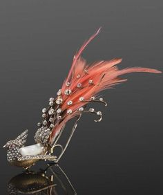 19th century aigrette