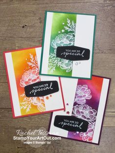 Flower Stamp, Flower Cards, Stampin Up Cards, Make Your Own Card, Card Making Tips, Card Tutorials, Card Making Inspiration, Pretty Cards, Stamping Up