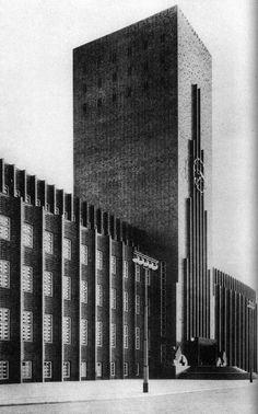 Rathaus Wilhelmshaven, Wilhelmshaven, Germany, Fritz Höger, 1928/29