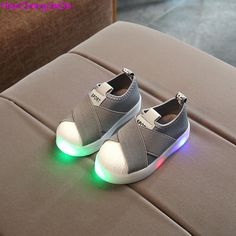 Canvas Kids Shoes With Light //Price: $13.98 & FREE Shipping //     #BirthdayDresses