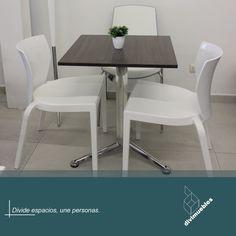 Dale un toque diferente a tus espacios y crea ambientes modernos. Dining Chairs, Dining Table, Furniture, Home Decor, Environment, Spaces, Mesas, Trendy Tree, Colors