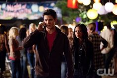 """Ghost World""--LtoR: Steven R. McQueen as Jeremy and Malese Jow as Anna on THE VAMPIRE DIARIES on The CW. Photo: Bob Mahoney/The CW 2011 The CW Network.  All Rights Reserved."