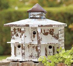 Distressed wood birdhouse luv it!