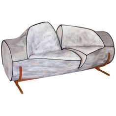 Slashed Sofa For Sale