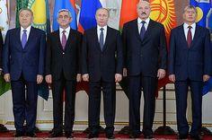 El acuerdo sobre la creación de la Unión Económica Euroasiática (UEE) entra en vigor el 1 de enero de 2015 marcando un nuevo nivel de integración entre los países fundadores como Bielorrusia, Kazajistán y Rusia y la adhesión de Armenia.
