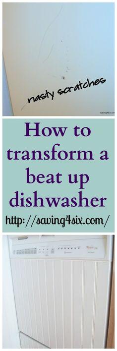 DIY Dishwasher Facelift