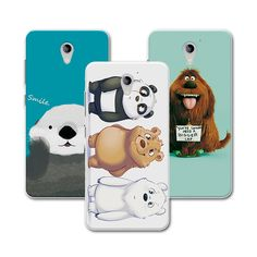 "New Style! Bear Carton Case For ZTE Blade A510 A 510 Coque , Colorful funda Soft Silicone Cover For ZTE Blade A510 5.0""+Gift #Affiliate"