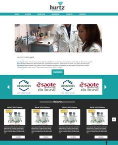 Empresa HURTZ: Site da empresa em processo de desenvolvimento.