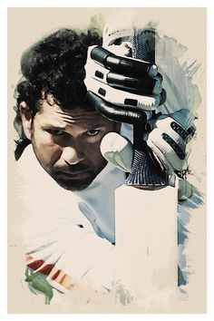 Sachin Tendulkar - Digital Art by Afzaal Ameer in My Projects at touchtalent