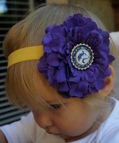 University of Washington inspired Headband